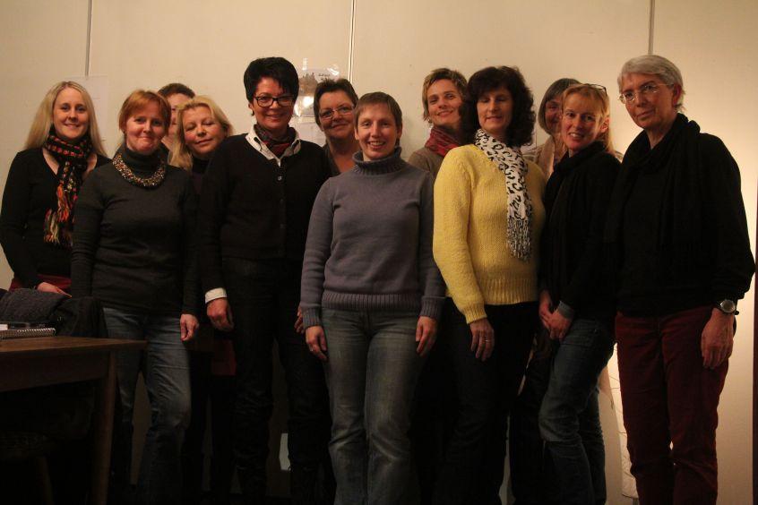 """Teilnehmerinnen an """"Mystisches Münsterland"""" Foto: Barbara Lippe"""