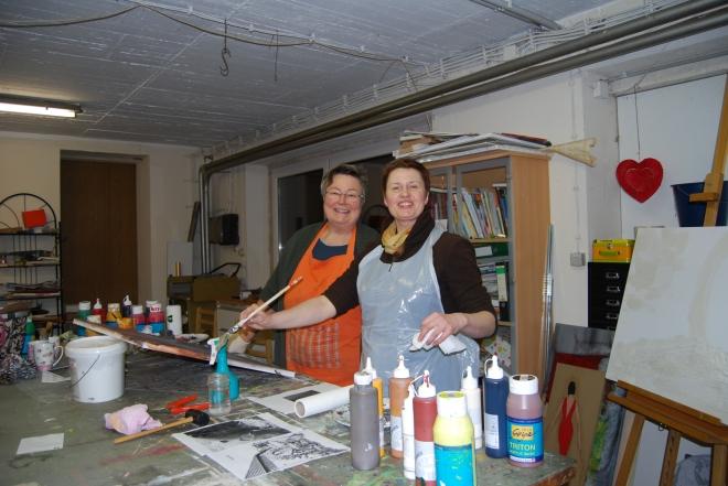 Bernhilde Wüller (links) und Katharina Iglinski