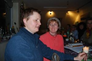 Heike Vullriede rechts mit Katharina Iglinski (Foto: Gaby Eggert)